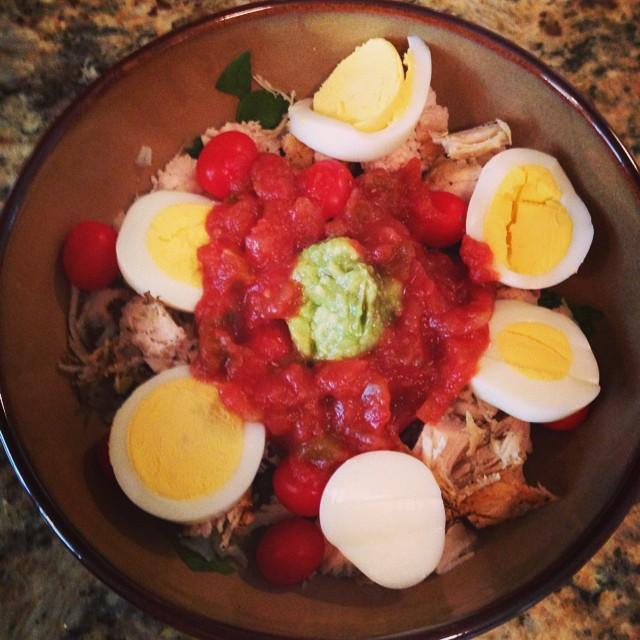Chicken buritto bowl