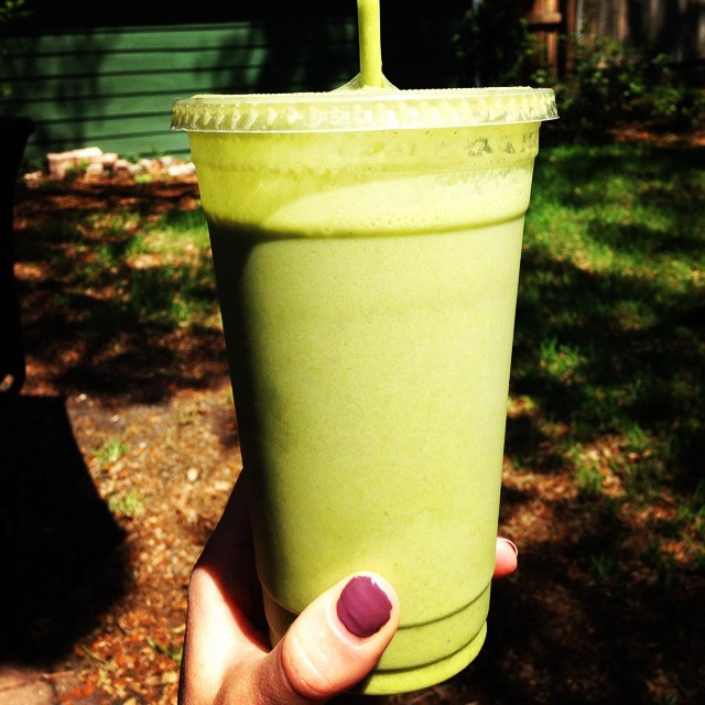 Green Matcha Smoothie