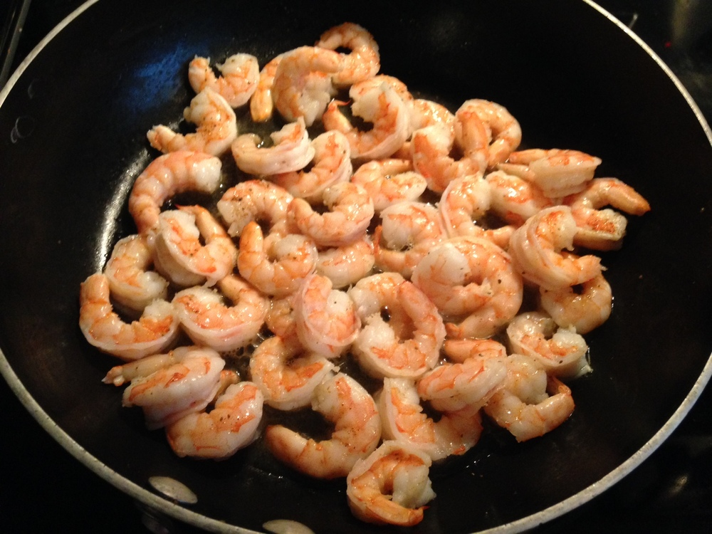 Perfectly cooked shrimp, perfectly seasoned with Old Bay!