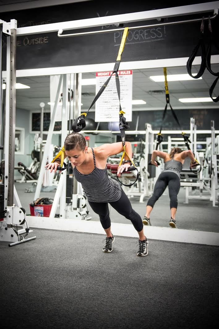 Exercise #1: TRX Push-ups