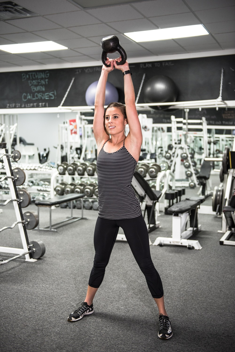 Top phase of the Kettle Bell Swing (Exercise #1)