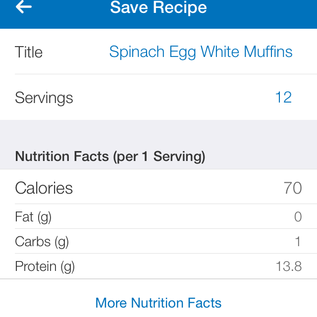 Just look at that nutrition profile! Protein-packed and non-fat!