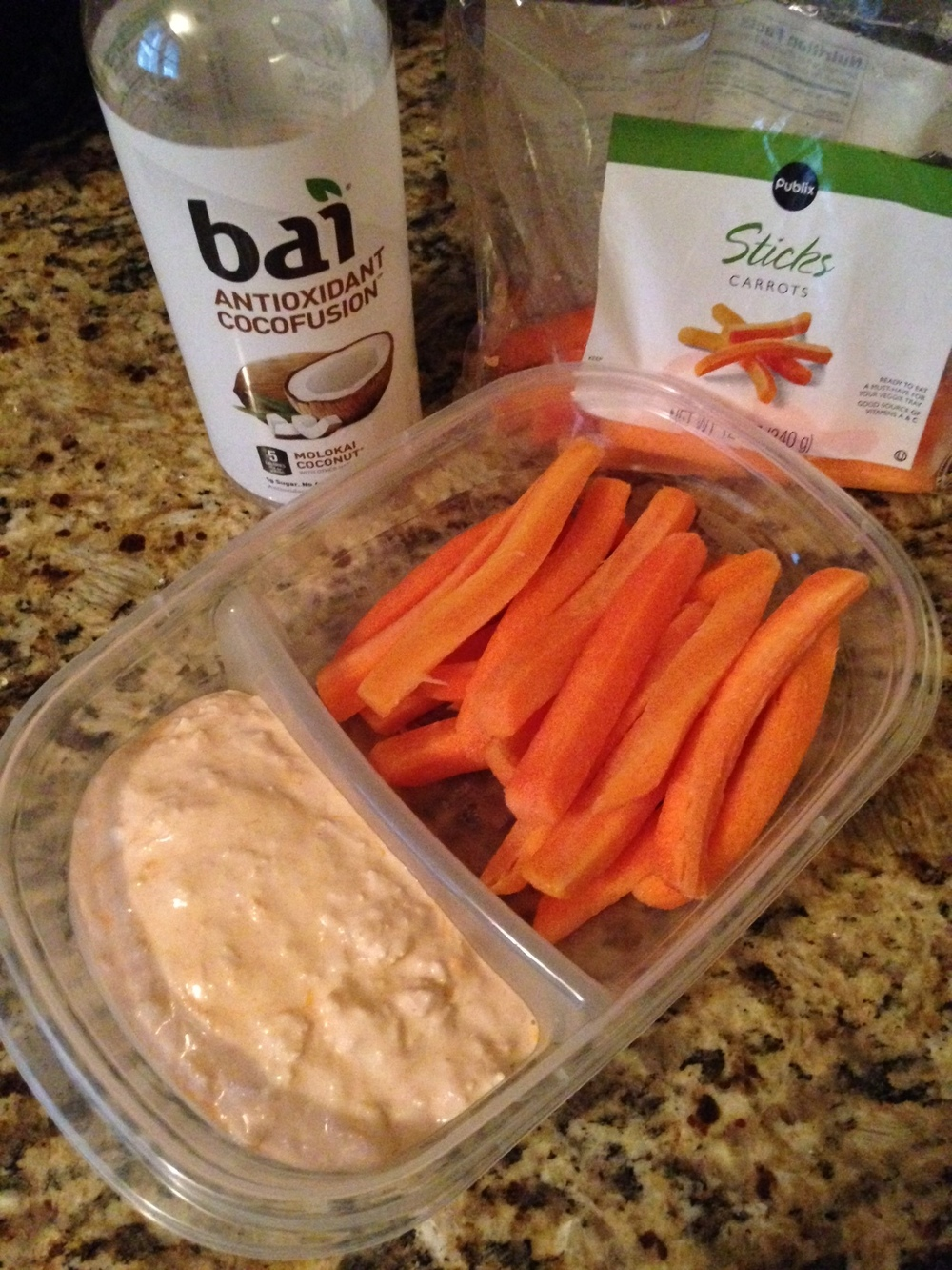 Makes the perfect meal when paired with your favorite raw veggies and Bai drink!