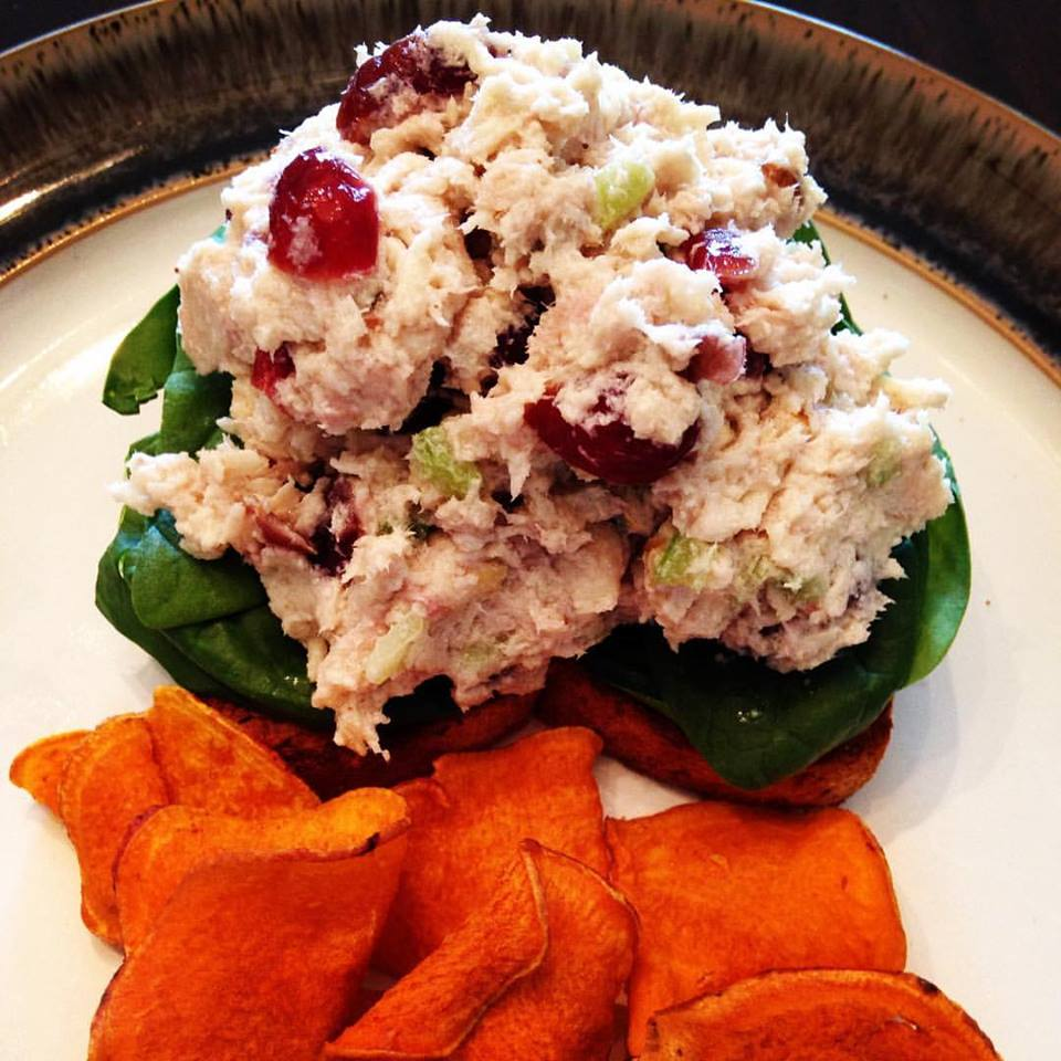 Meal Makeover: Clean Cranberry Walnut Chicken Salad