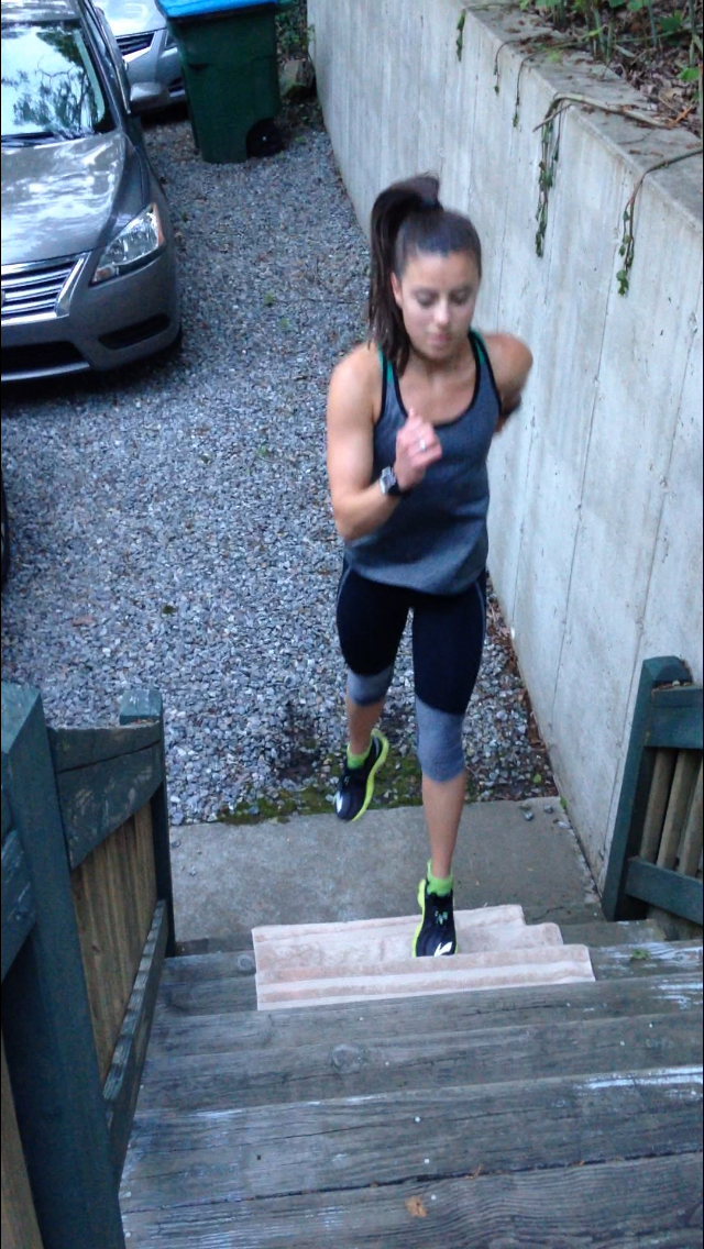 Exercise #2 - Left leg stair pop-up