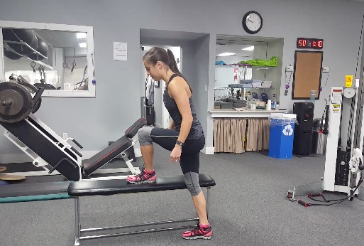 Full-body Bench Circuit Workout