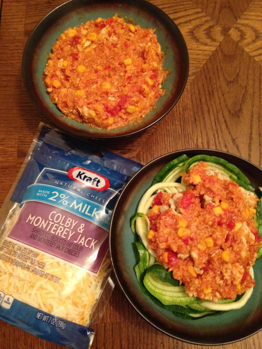 Crockpot Turkey and Quinoa Enchilada