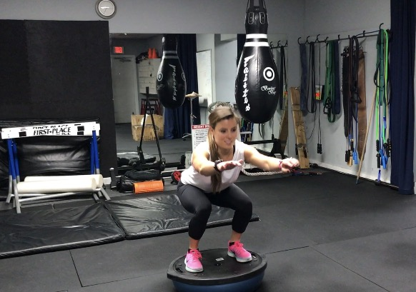 Exercise #1: Bosu Ball Squats