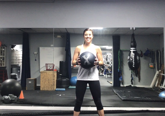 Full Body Medicine Ball Circuit