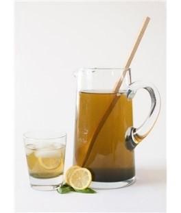 Iced Spirulina Peppermint Tea