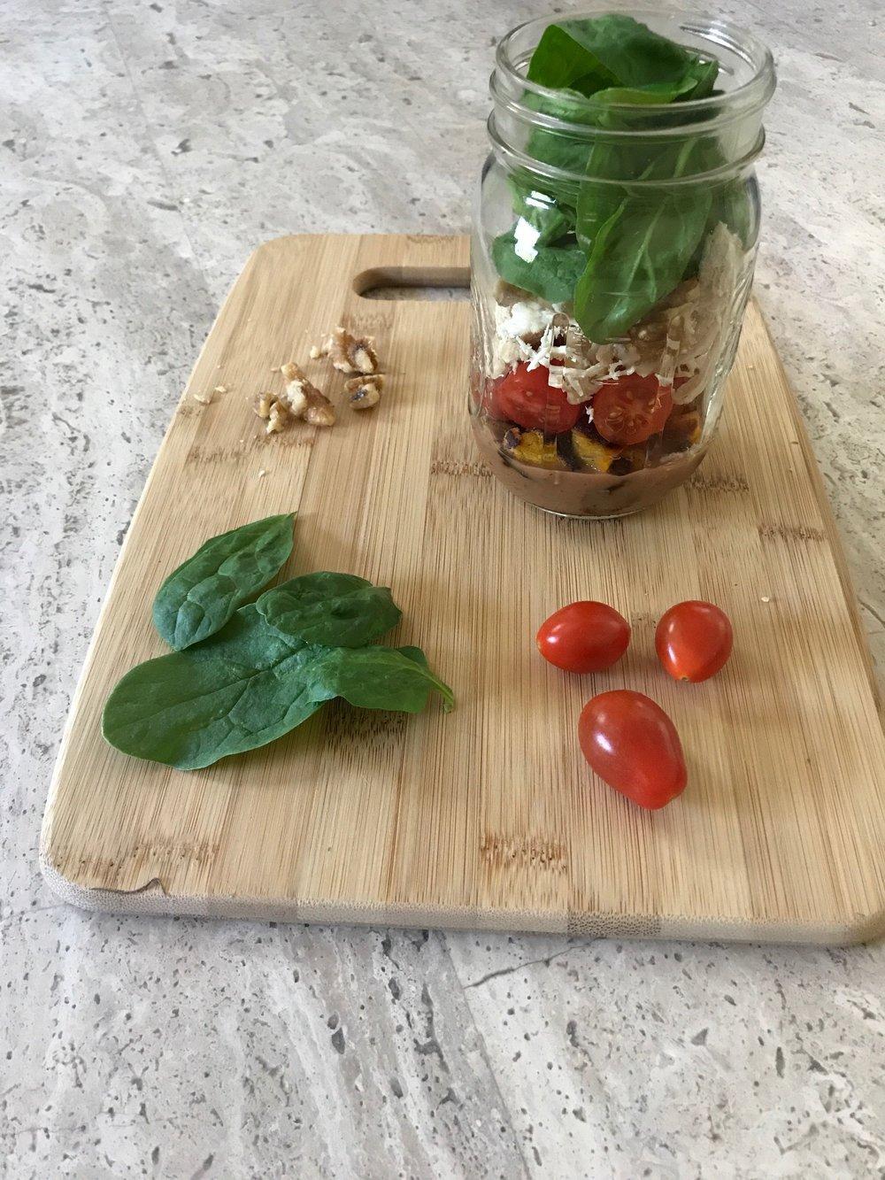 Paleo Salad in a Jar