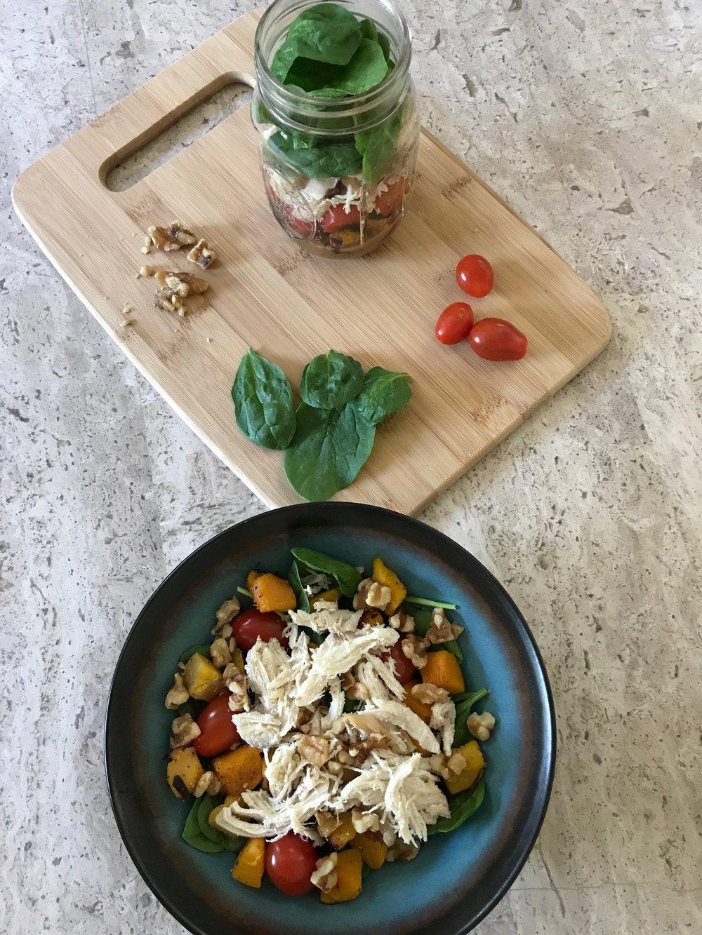 Paleo Salad in a Jar 2