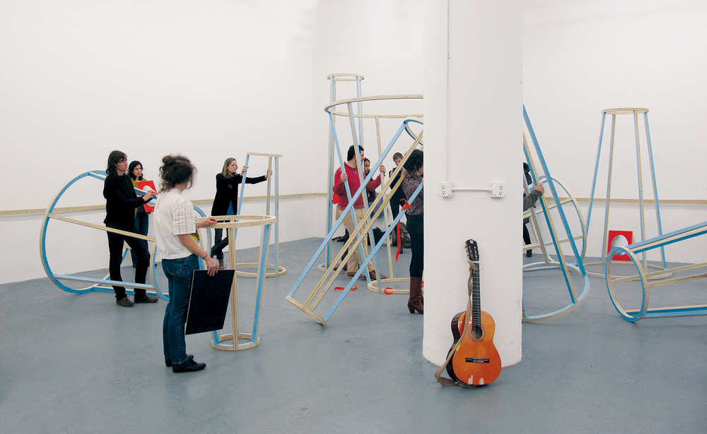 Stand Like a Sculpture, 2011 (exhibition)