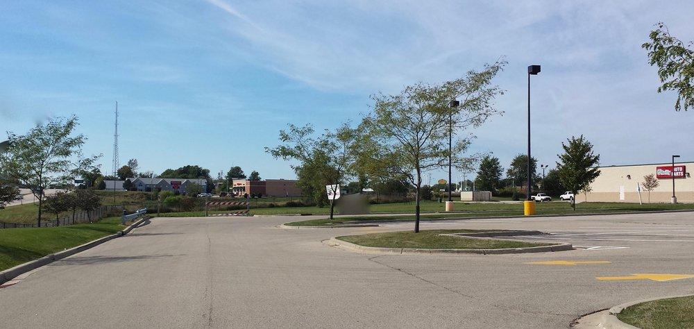 Dodgeville parking lot approach.jpg