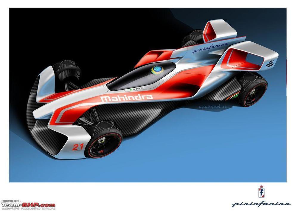 Mahindra Formula E Concept car