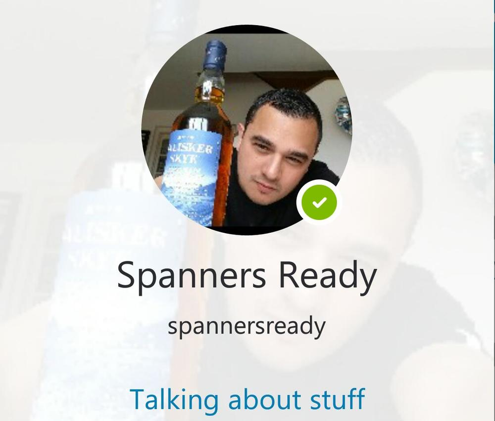 SpannerReady on Skype