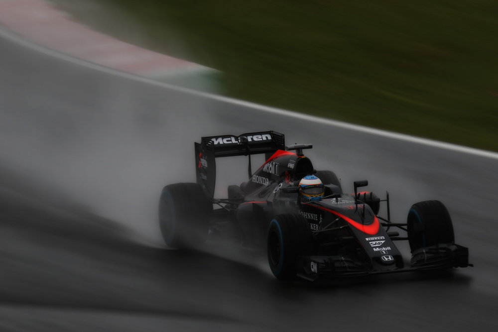 Alonso has already scored more points this season than the team managed in 2015