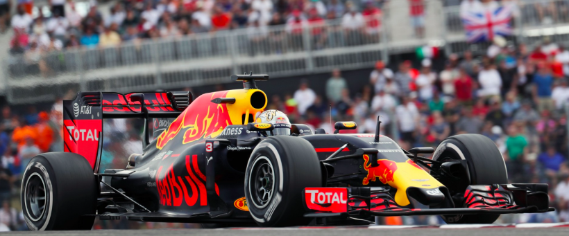 Daniel Ricciardo on-track in Austin