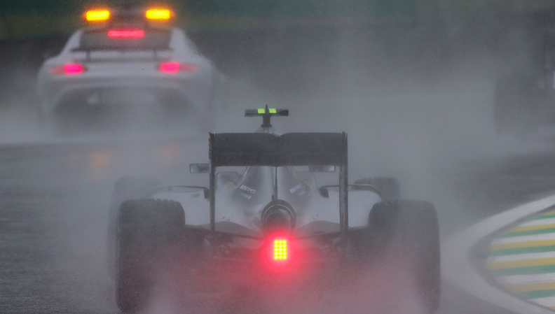 Parts of the race were spent behind the Safety Car. Source: motorsport.com
