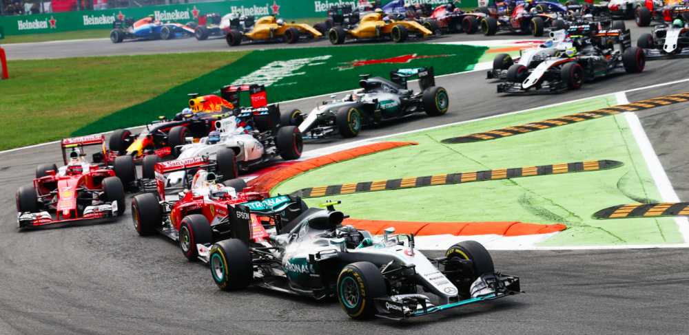 Hamilton's sluggish start in Monza put him back in the pack as Mercedes suffered a raft of mid-season clutch issues. Source: F1 Fanatic