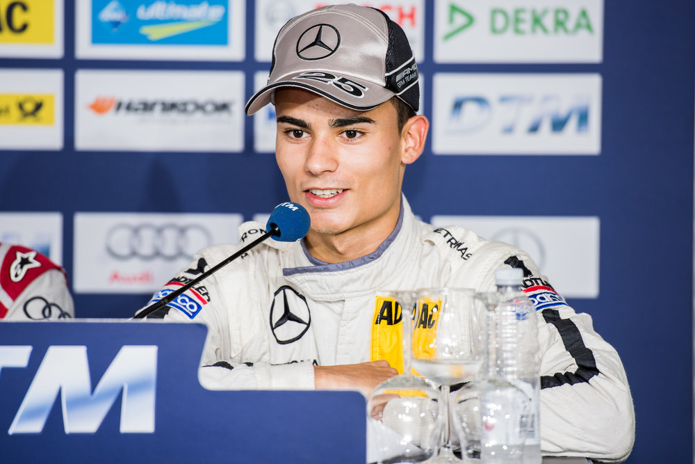 Wehrlein scored his first points in Formula One at the Austrian Grand Prix