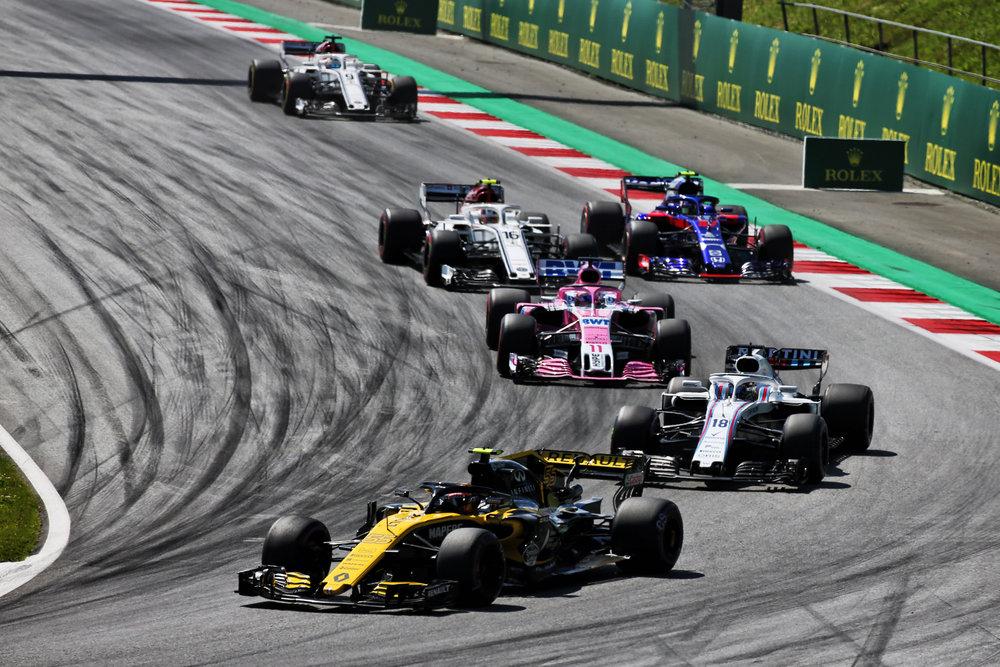 Austrian Grand Prix.  Photo: Renault Media