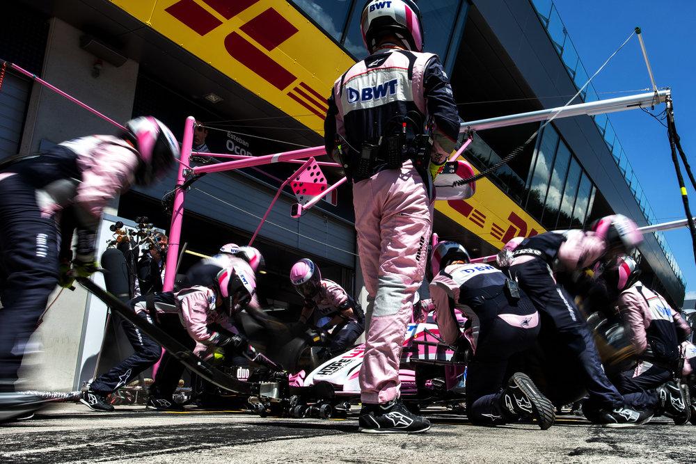 Austrian Grand Prix.  Photo: Sahara Force India Media
