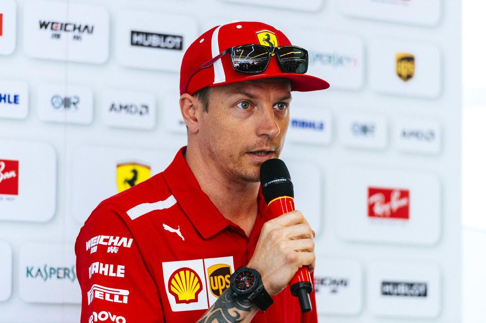 Kimi Räikkönen,British Grand Prix.  Photo: Ferrari Media