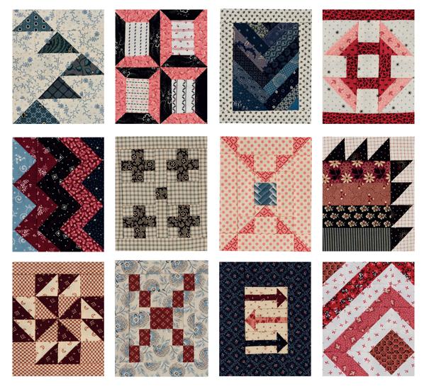 Algunos de los blocks. En forma rectangular se ven encantadores. Foto: Brent Kane