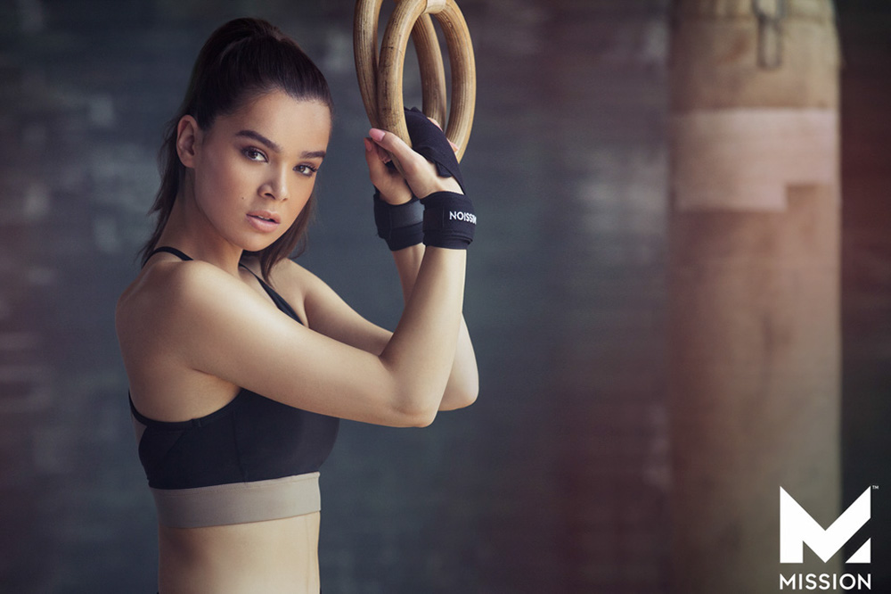 Mission Athletics Hailee Steinfeld Dove Shore Photography