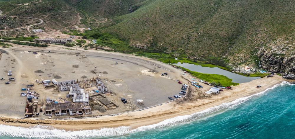 Development site at Punta Lobos