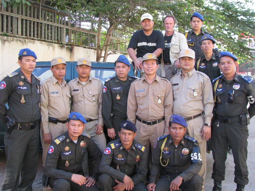 The first program implemented in Cambodia was the Wildlife Rapid Rescue Team in 2001.