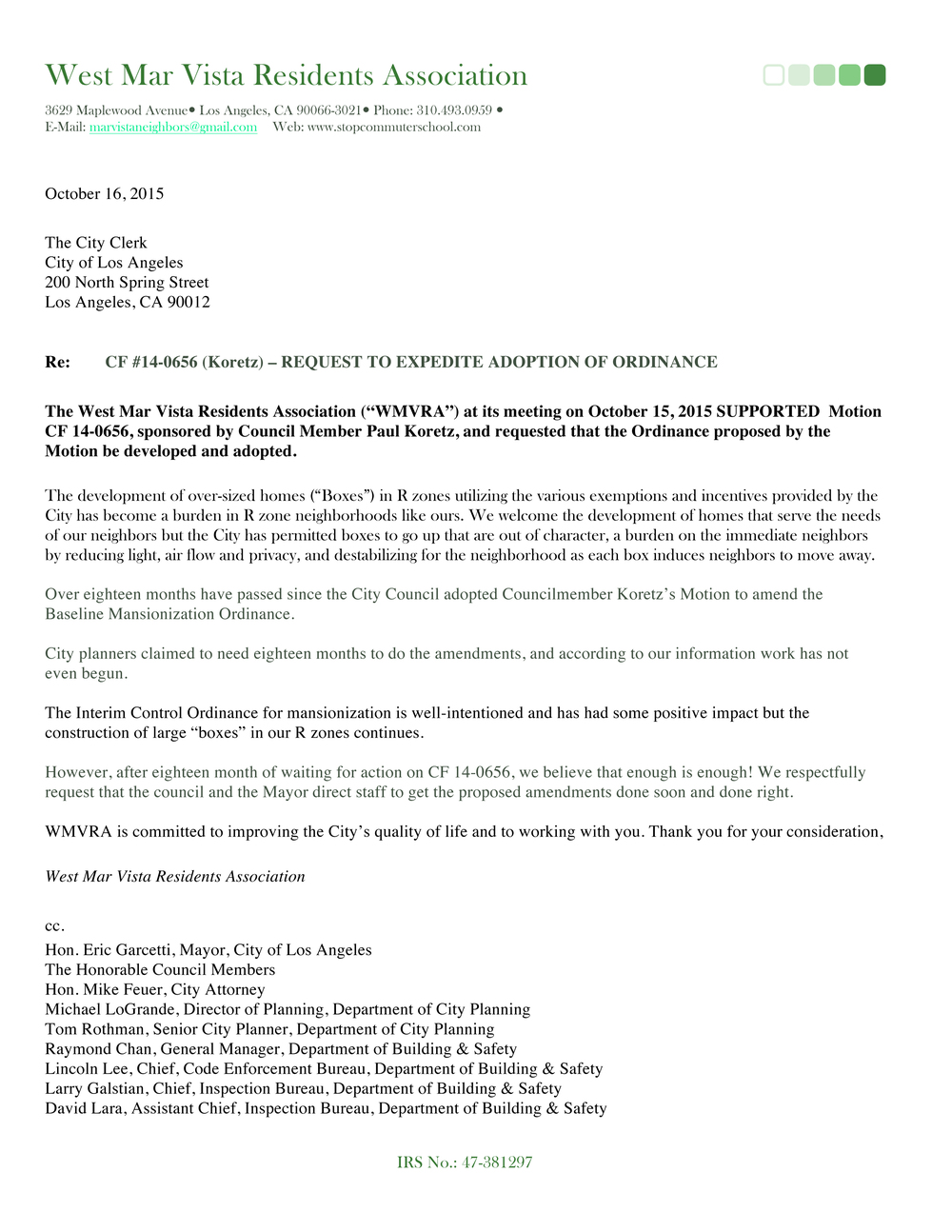 West Mar Vista RA letter.jpg