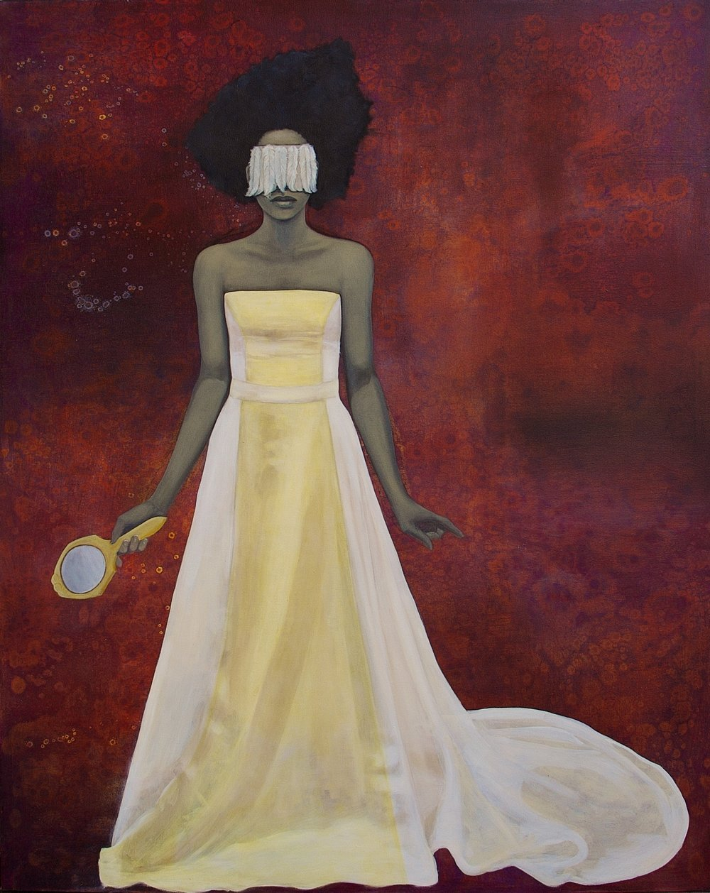 The Fairest of the Not So Fair    oil on canvas, 72 x 67 inches     2008