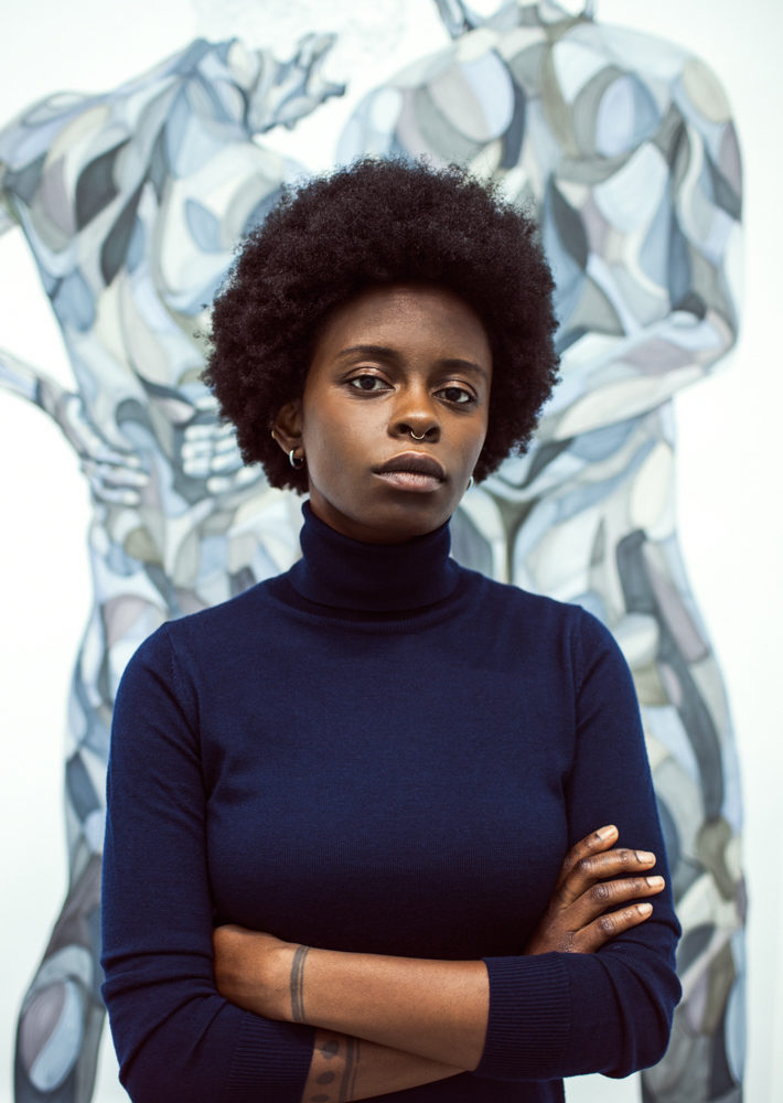 Toyin Ojih Odutola in New York, December 2015                         Photo: Vicente Muñoz