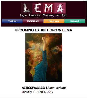 Upcoming solo exhibition at LEMA in Jan. 2017