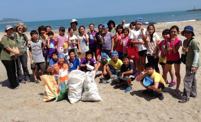Students from Taiwan Wan Li