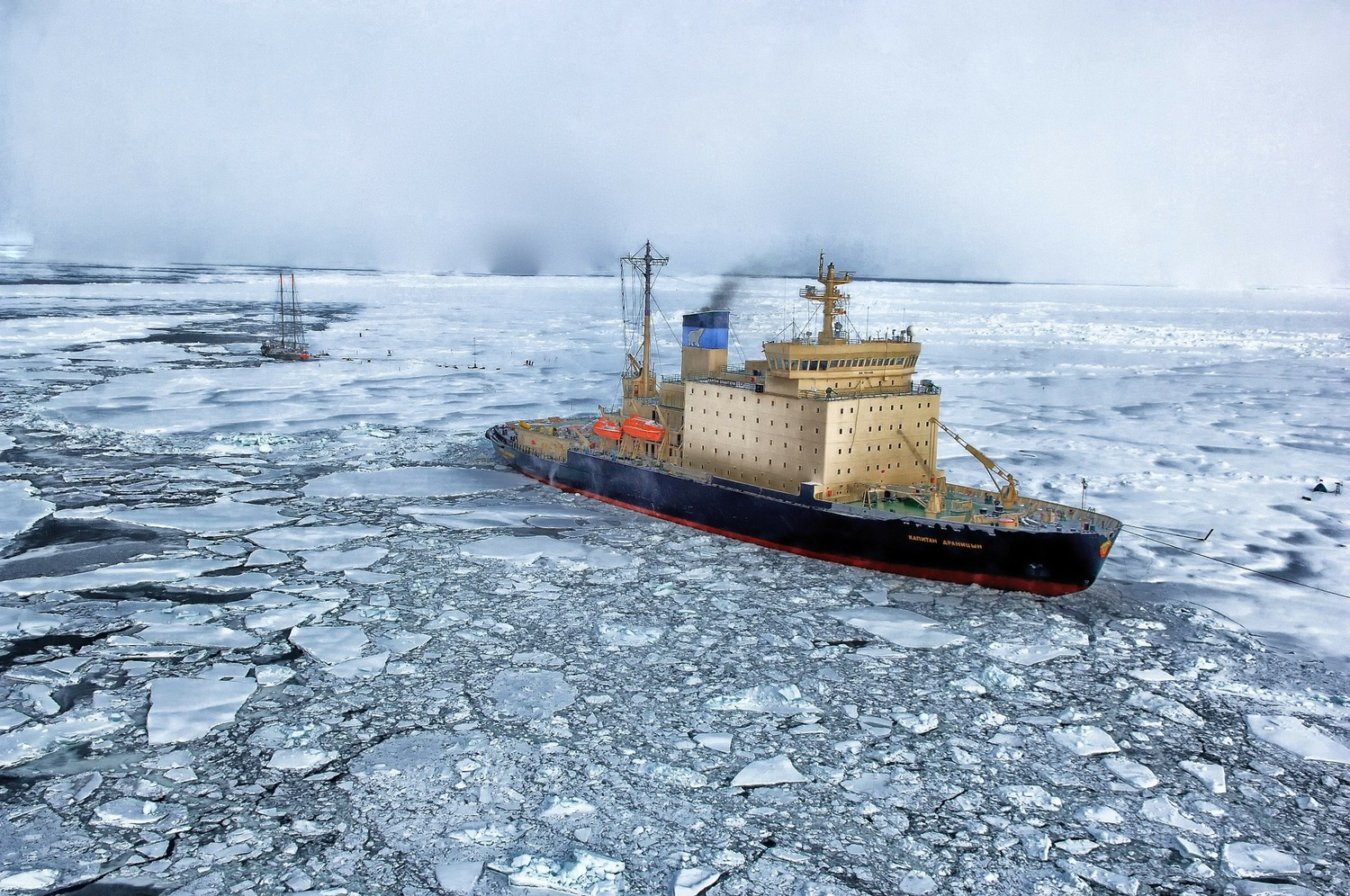 Pollution in the Arctic?