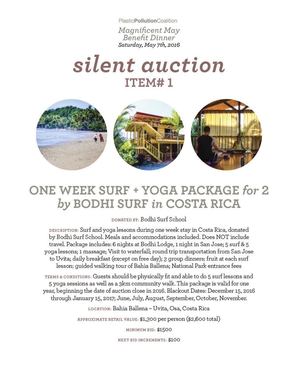 Surf/yoga in Costa rica