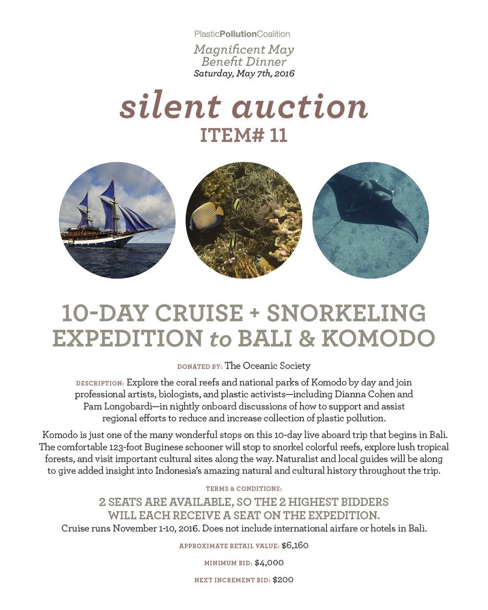 10-day bali cruise
