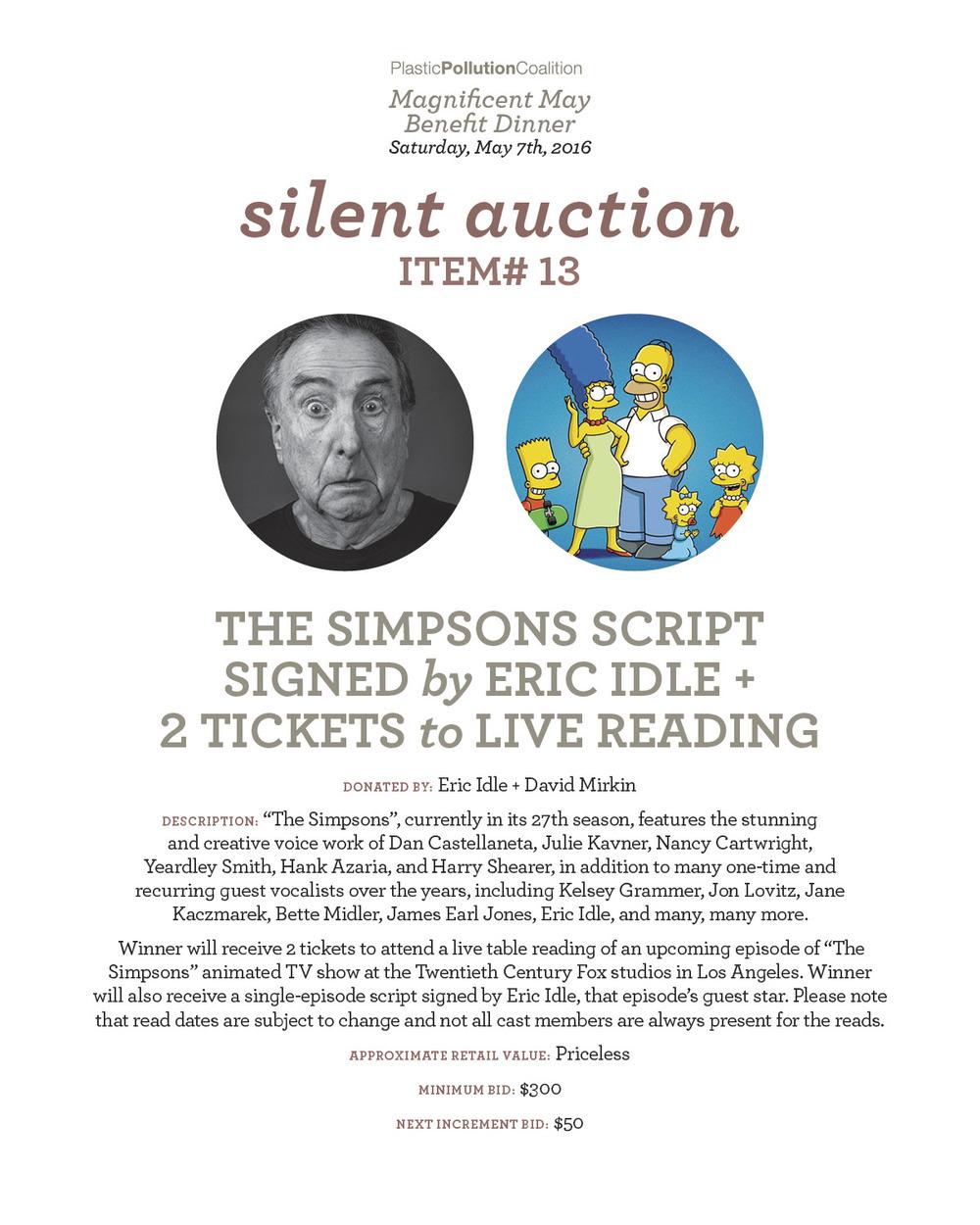 simpsons script +