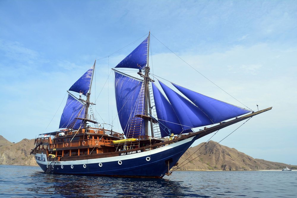 Schooner Sea Safari VII. Photo by Leilani Gallardo