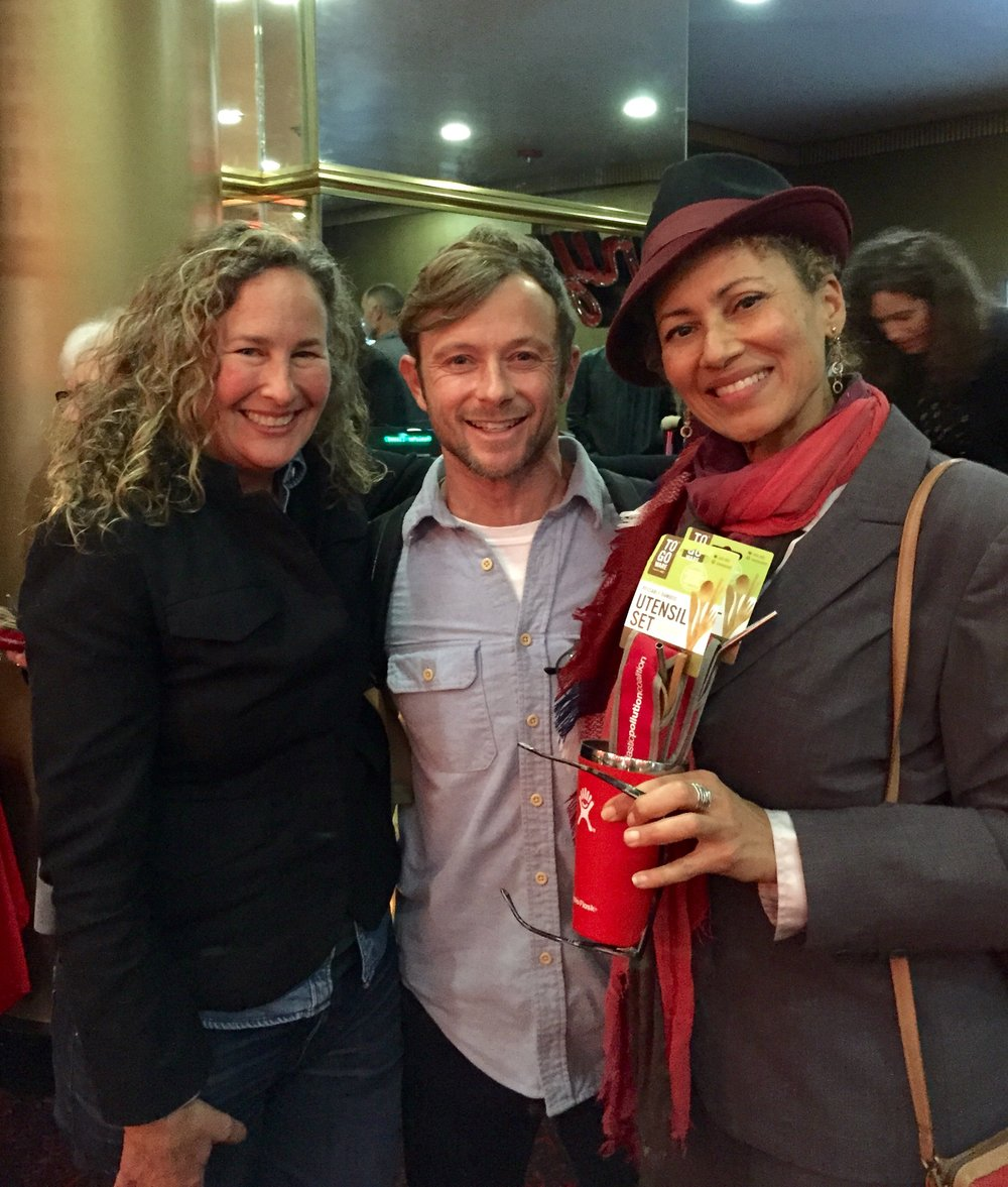 Dianna Cohen, Ben Kay, and Monique Birault