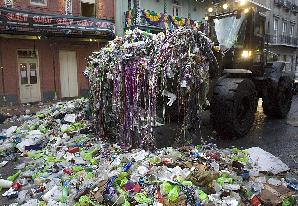 Mardi Gras May Be Over But What Will Happen To All Those Beads