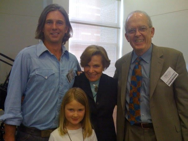 With hero Sylvia Earle