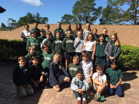 6th-grade students at Stevenson School, in Carmel, California