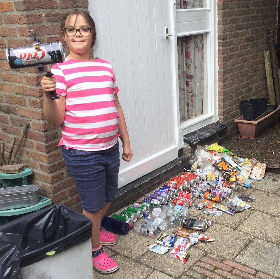 How a 9 Year Old Who Picks Up Plastic is Helping to Save the Planet