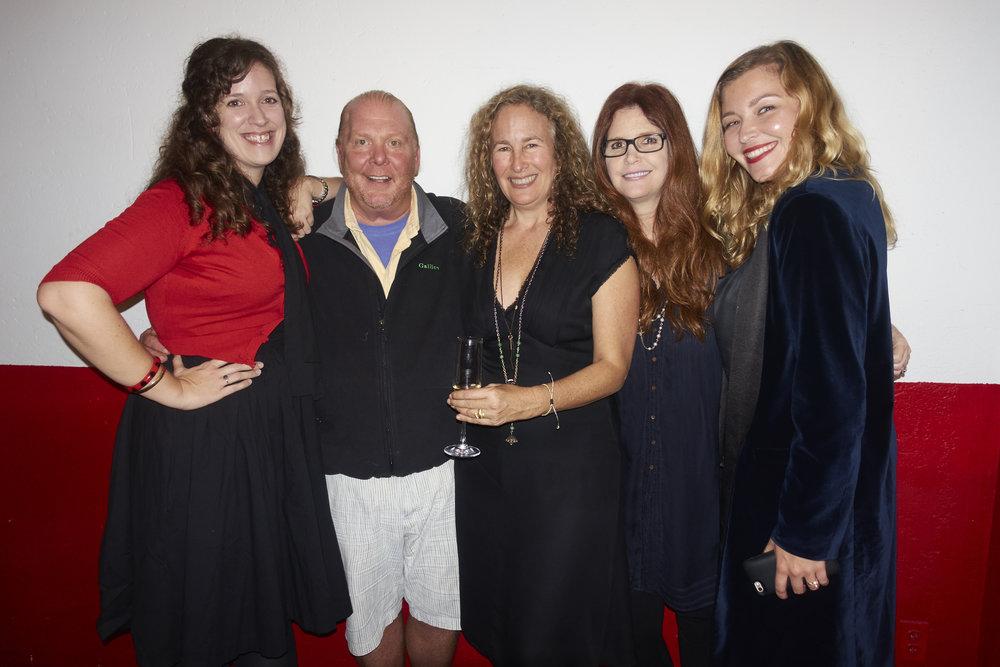 Jane Patton, Mario Batali, Dianna Cohen, Michelle Esrick, and Jordan Popper. @lyndachurilla