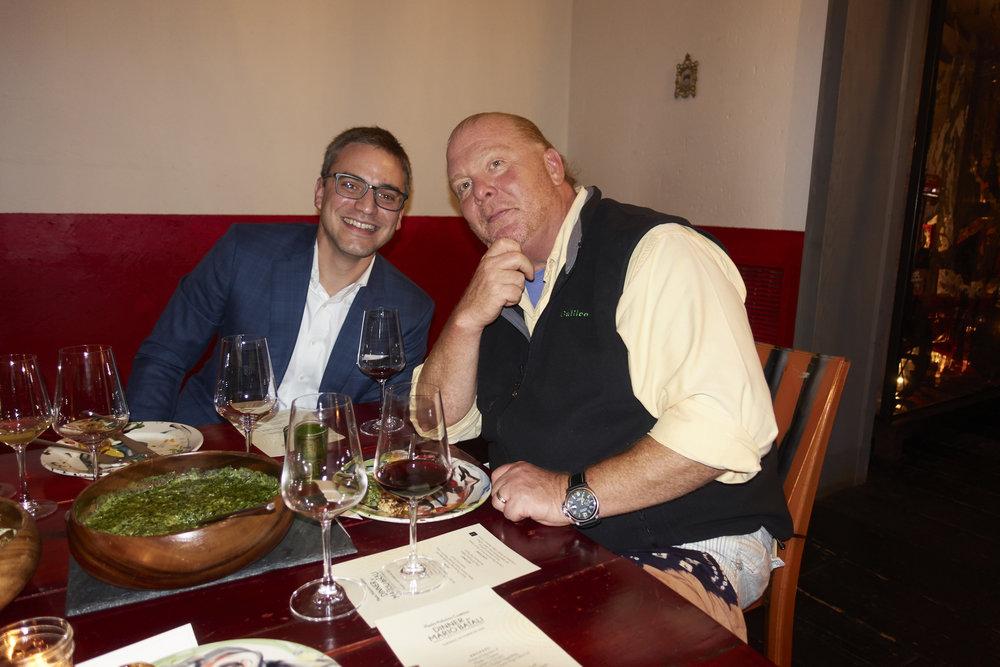 Bill Jackson and Mario Batali  @lyndachurilla