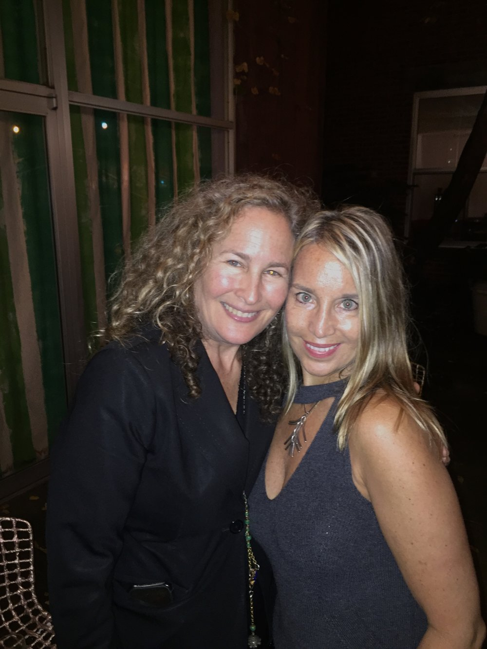 Dianna Cohen and Lynda Churilla